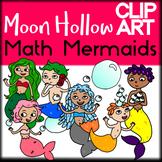 Math Mermaids - Moon Hollow Clip Art