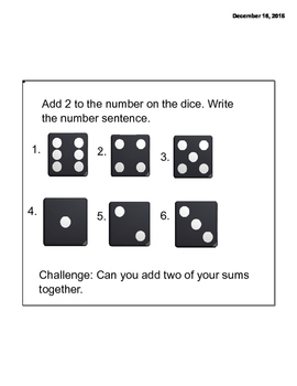 Math Message Week 6