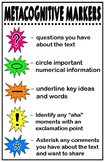 Math Metacognitive Markers Poster