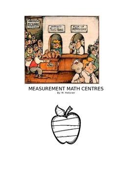 Math Metric Measurement Inquiry and Centres Unit