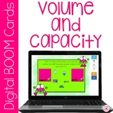 Math Metric Volume and Capacity BOOM Cards for Distance Learning