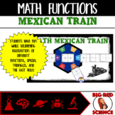 Math Mexican Train Game: Review Parent Functions in a Fun Way!