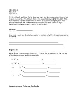 Math Midterm Exam