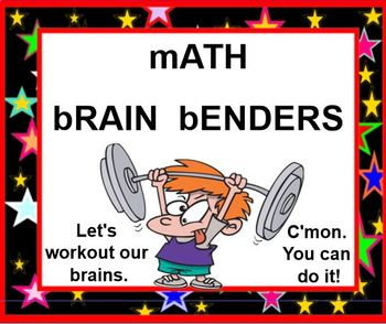 Math Mind Benders - Problem Solving