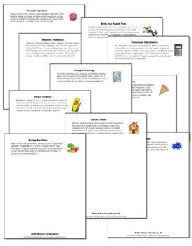 Math Mindset Challenges Webinar Bundle