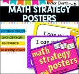 Math Strategy Posters -Positive Mindset #tptfireworks