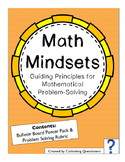 Math Mindsets: Problem-Solving Principles (Posters and Rubric Pack)
