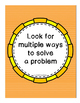 Math Mindsets: Problem-Solving Principles (Posters and Rub