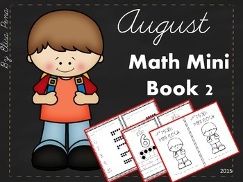 Math Mini Book 2 - Month of August