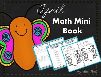 Math Mini Book - Month of April