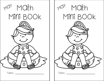 Math Mini Book - Month of May