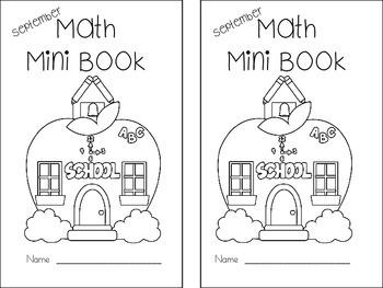 Math Mini Book - Month of September