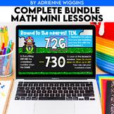 Math Mini Lessons GROWING BUNDLE (Google Classroom & PPT)
