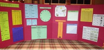 Math Mini-Office for grades K-2