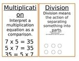 Math Mini Posters
