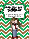 Math Mini Task: 2 Digit Addition and Subtraction