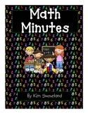 Math Minute, Math Fillers