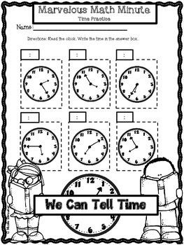 Back to School Math Practice