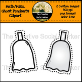 Math / Misc. Ghost Pendants / Clipart