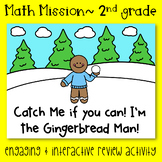 Math Mission- 2nd Grade Measurement and Data- Catch the Gingerbread Man