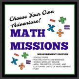 Math Missions: Measurement Edition