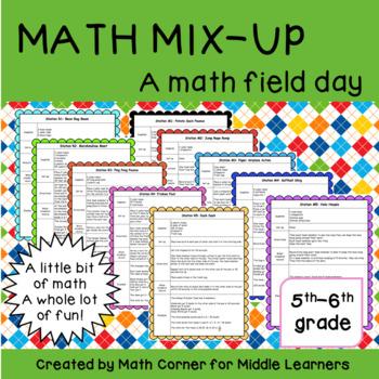 Math Mix-Up Day: A math field day