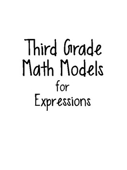 Math Model Posters for Expressions