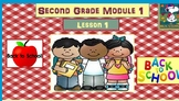 Math Module 1 Bundle for 2nd Grade Interactive PowerPoints