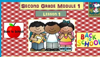 Math Module 1 Bundle for 2nd Grade Interactive PowerPoints