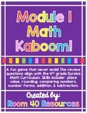 Math Module 1 Kaboom