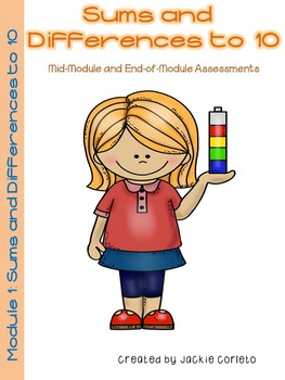 Math Module 1 Mid & End of Module Assessments