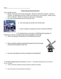 Math Module 1 Problem Solving Ordering Numbers 4th grade E