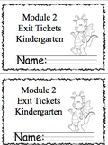 Math Module 2 Common Core Kindergarten Expansion Pack: NYS