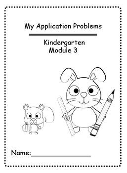 Math Module 3 Common Core Kindergarten Expansion Pack: NYS