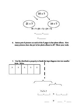 Math Module 3 Topic B Quiz, Grade 3