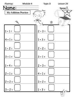 Math Module 4 Common Core Kindergarten Expansion Pack: NYS Engage NY