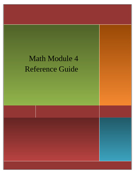 Math Module 4 Reference Guide