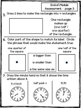 Math Module 5 End Assessment