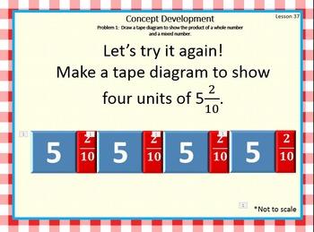 4.5.GH Math Module 5 Topics G and H Engage NY Eureka 4th Grade Fractions