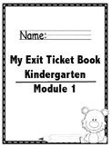 Math Module 1 Common Core Kindergarten Expansion Pack: NYS