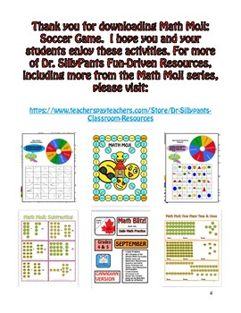 Math Moji Soccer: Multiplication Game