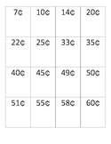 Math Money Cards