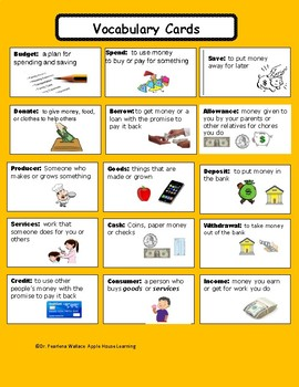 Math & Money: Counting Money & Personal Financial Literacy