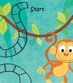 Math Monkey Gameboard