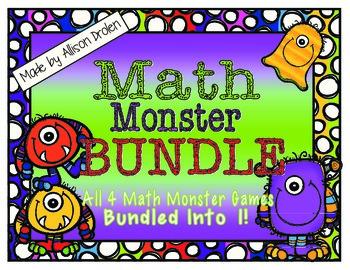 Math Monster BUNDLE Pack!