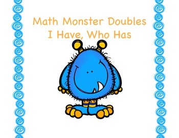 Math Monster Doubles Game
