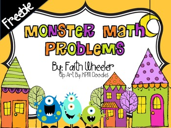 Monster Math Problems