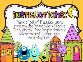 Monster Math Problems