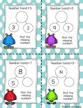 Math Monster Skills