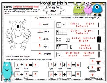 Math Monsters